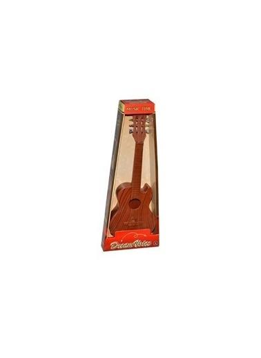 Birlik Oyuncak 890-B-12 Yb141320 Ahşap 6 Telli Gitar Renkli